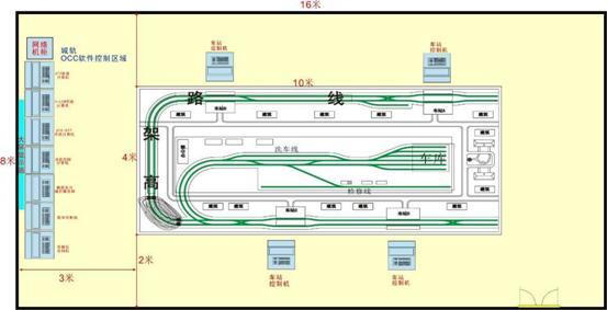 城市轨道交通运营管理实训系统-机械教学设备 液压台